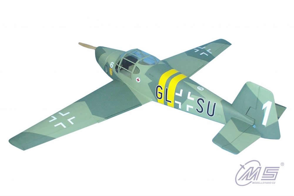 MS BU 181 Bestmann ARC 2450mm wingspan