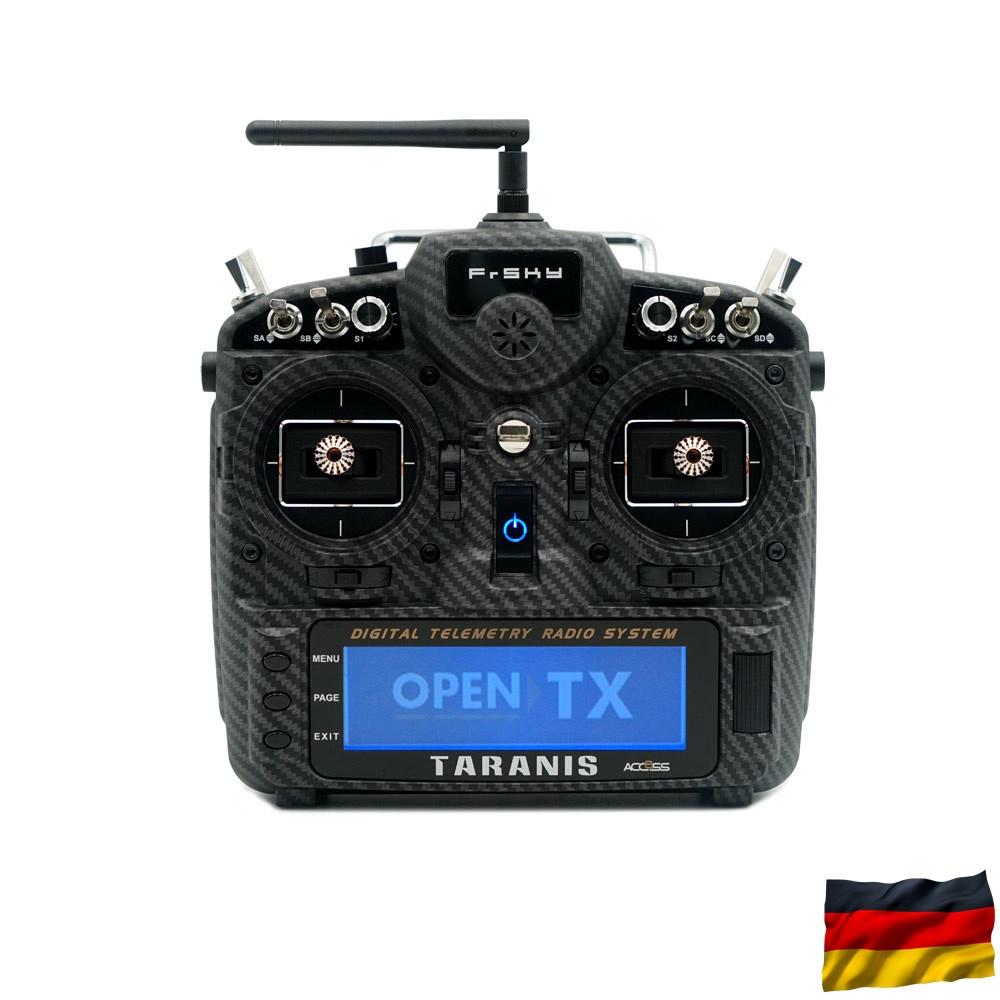 TARANIS X9D plus 2019 SE EU/LBT FrSky transmitter set Carbon