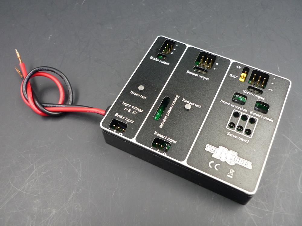 TopRC controller B for E-Retract and Brake