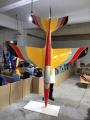 TopRC Trainer Jet Intro yellow/red/black